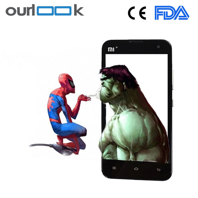 0.3mm cheap tempered glass film 9h for phone
