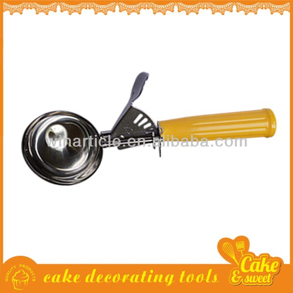 Good quality metal colorful ice cream scoop