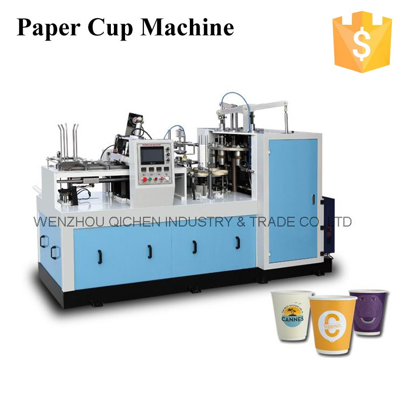 ZBJ-X12 Ultrasonic Sensor Paper Cup Making Machine Prices