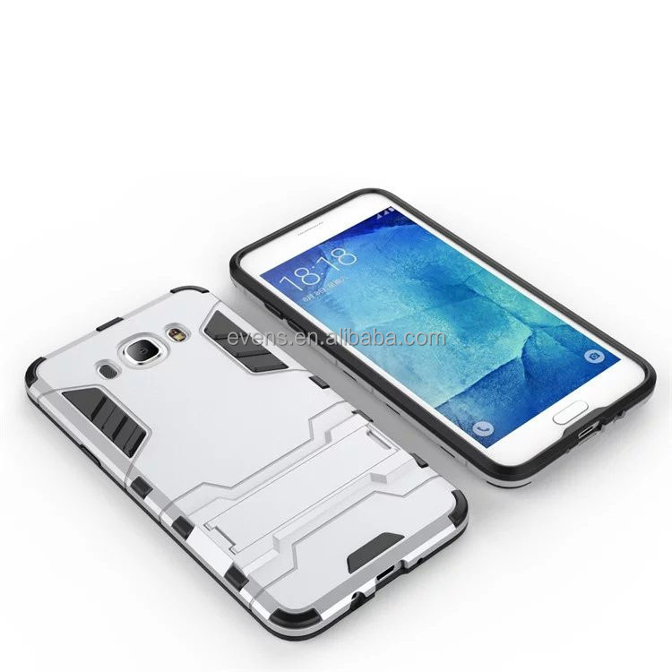 For samsung galaxy A9 PRO Case cover 2 in1 TPU + PC Stand Heavy Duty Hard Iron Man case for samsung A9 PRO