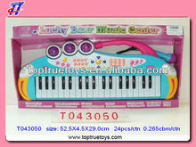 electric organ/toys music instrument with MIC.