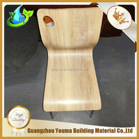 2016 new design Compact panel restaurant furniture chairs/Outdoor chairs / tables