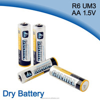 Um3 R6 dry cell aa size battery manufacturer