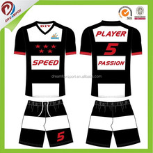 breathable sublimated custom cheap replica soccer jerseys wholesale