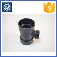 Pipe fitting three way elbow