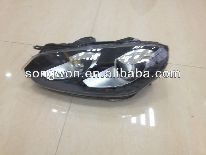 car head lamp for golf 6 GTI and golf 6 R20