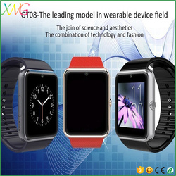 Cheap wholesale sim card smart watch GT08 bluetooth android mobile phone with Sleep monitoring