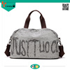 Hot selling large capacity canvas cotton tote bag for travelling