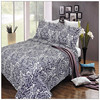 Warm Autumn/Winter cotton/poly filling quilt, modern home textile
