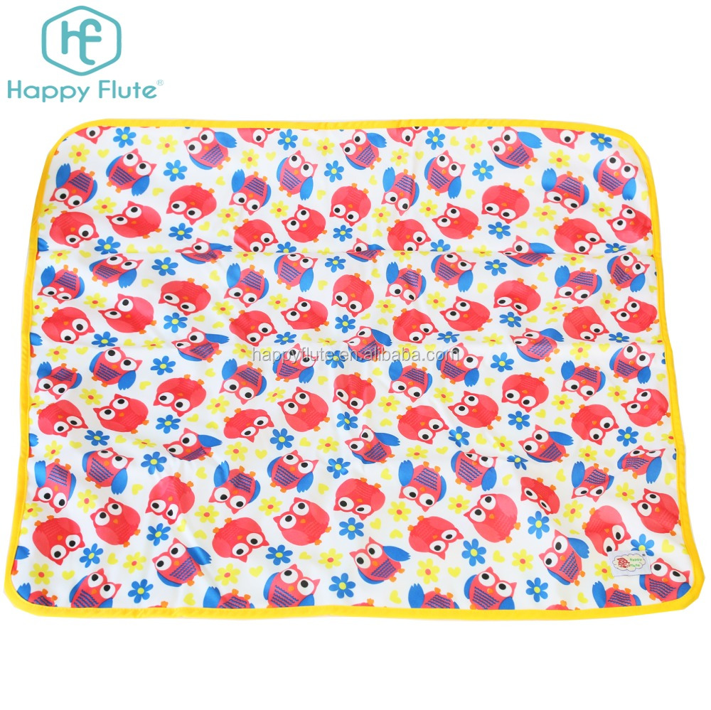 Soft Minky Baby Changing Mat Waterproof Diaper Changing Pad cover