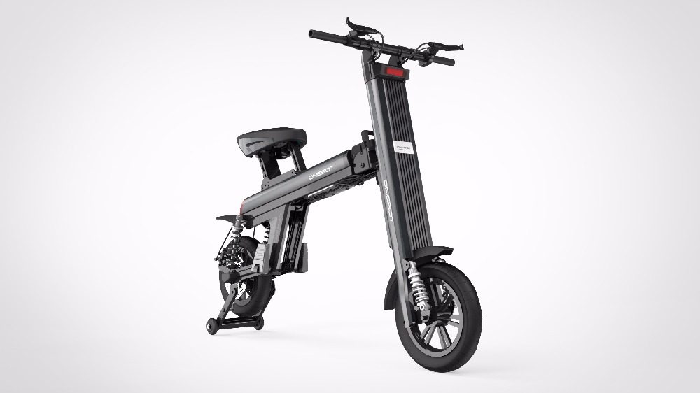 bicycle folded/electric bike/ Panasonic double battery from shenzhen electric bicycle factory