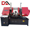 Hydraulic disc saw with sawing machine with metal sawing machine