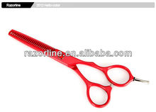 R1T-Red/Teflon Coating/Stainless Steel/Color hair thinning scissors