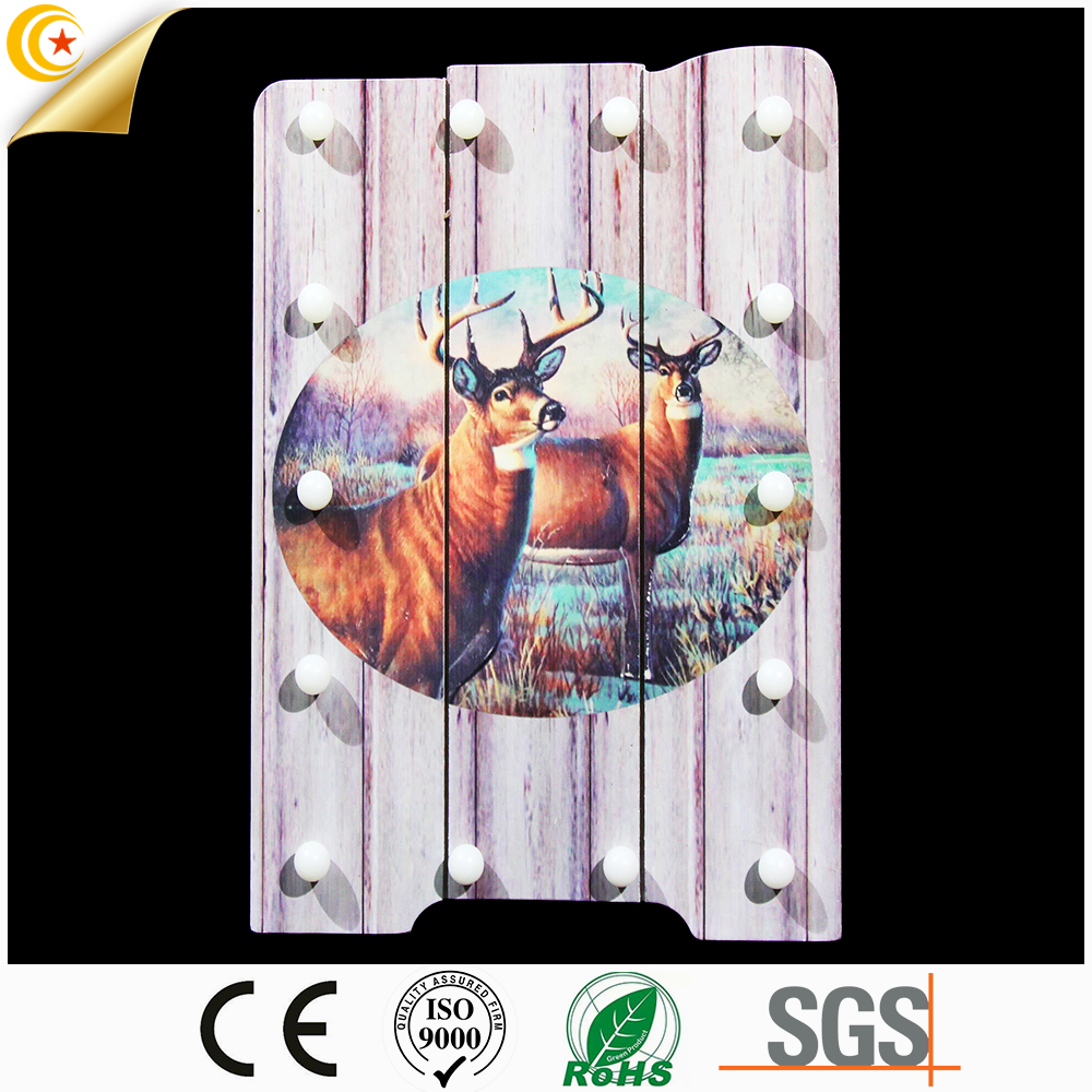 Hot selling colorful wall decoration bedroom decorative fancy light