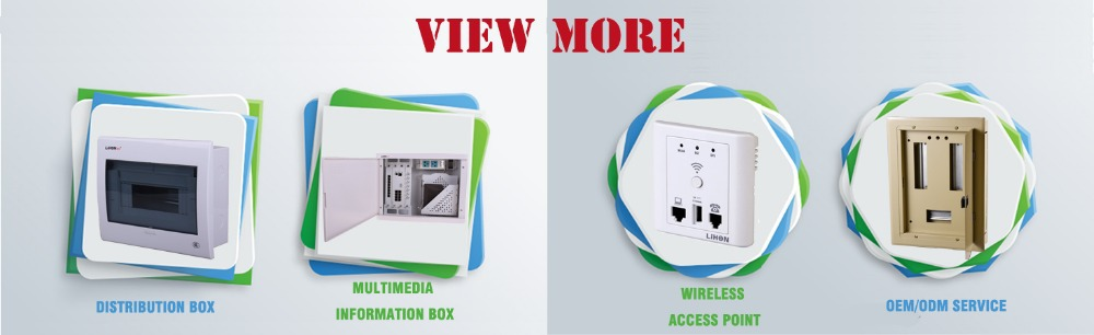 home smart box, multimedia information box for home , hotel , office with metal base box
