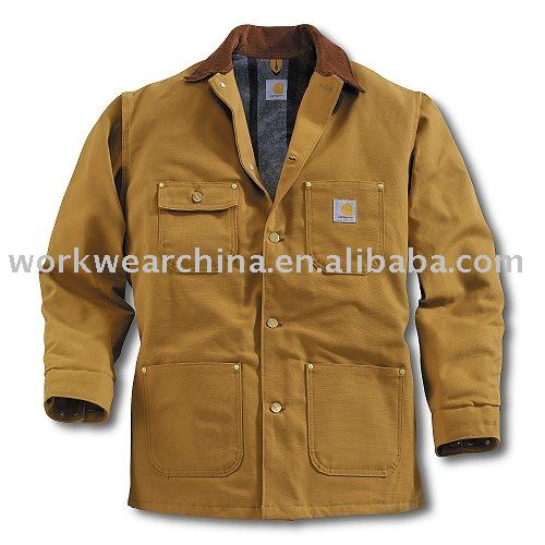 Cotton Canvas Quilted Men's working clothing