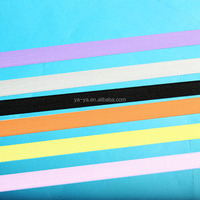 colorful binding elastic band for underwear
