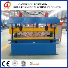 Trapezoidal profile roofing sheet machine/galvanized roof construction for roll forming china supplier