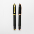 Luxury High Quality Office Gift Metal Carbon Fiber Roller Pen With Logo Design