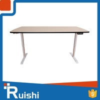 China ergonomic workstation lifting column computer office table or desk