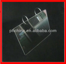 SCH-25 Lucite Acrylic Calendar Stand With Metal Rack,Promotional Acrylic Calendar Display,Acrylic Imagines Display Stand