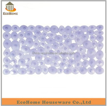 Bathroom pebble design plastic mat