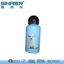 Customized color plastic protein shake bottle