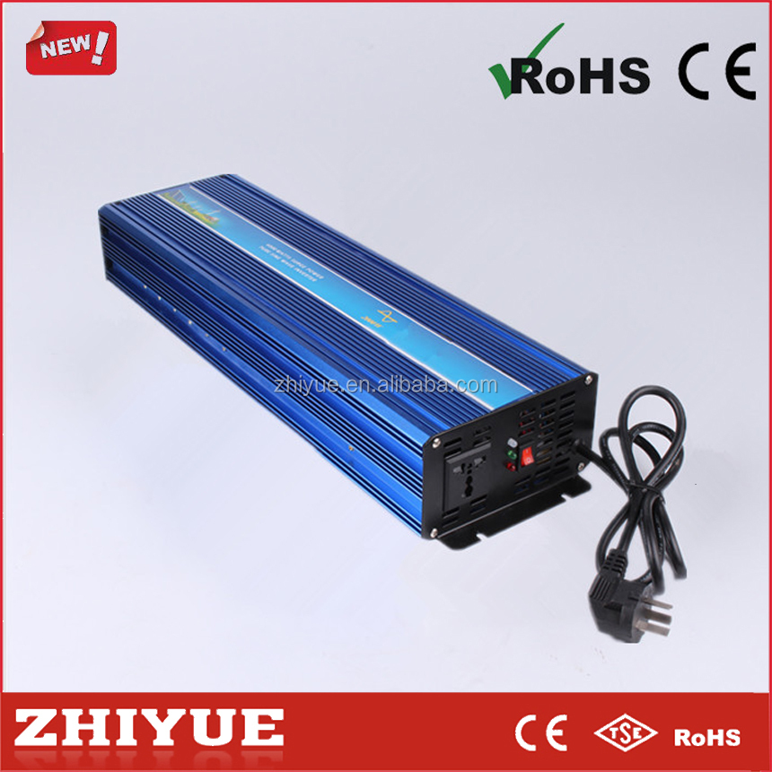 best 12v 220v 5kw 5000w pure sine wave power inverter with charger