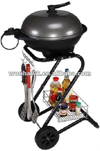 New design steel outdoor furniture electric bbq grills as gifts
