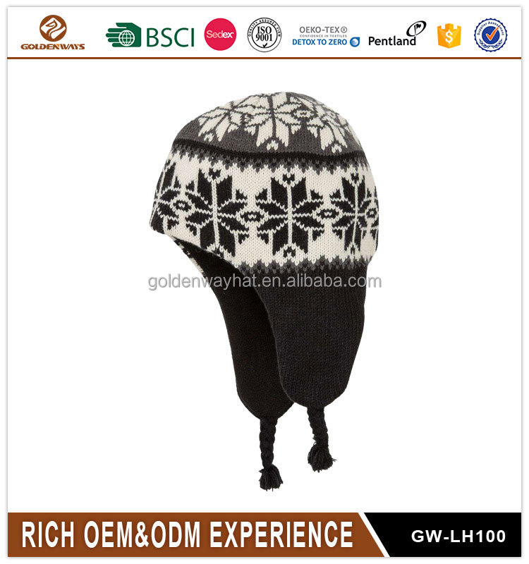 2017 Wholesale Colorful kids winter Beanies Knitted hat and cap
