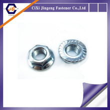 Different types of flange nuts din6923