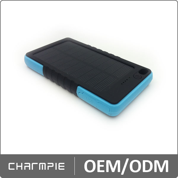 2014 new design hot sell in usa 5000mah rohs solar cell phone charger