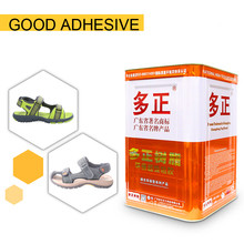 Cr grafted adhesive for sandals and sport shoes