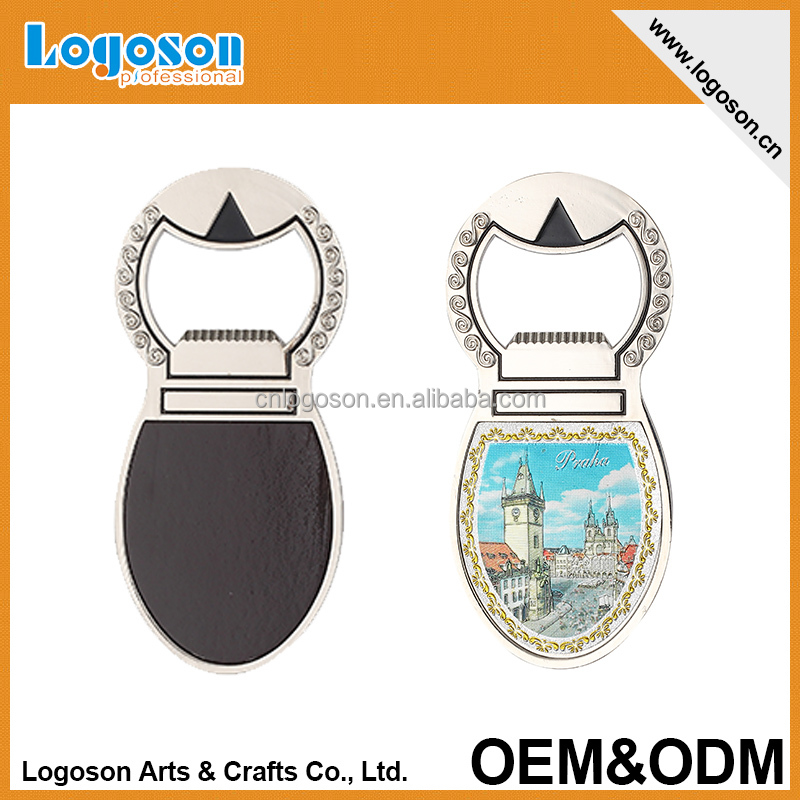 wholesale custom acrylic/metal/paper 3D bottle opener fridge magnet