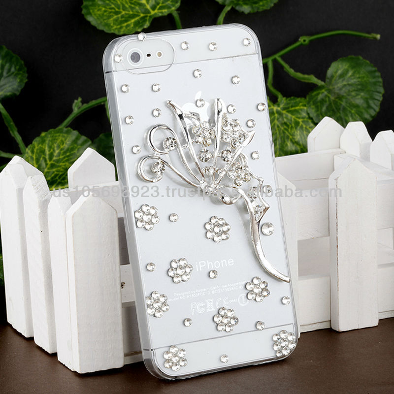 Handmake Diamond Luxuary Phone case for Iphone 5/5s