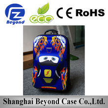 Fashion Custom 600d polyester eva luggage trolley bag