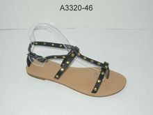 Latest strap flat sandals for women 2013