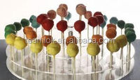 2014 HOTTEST mini love shape acrylic lollipops stand