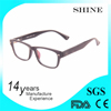 Custom material anti blue rays sport reading glasses