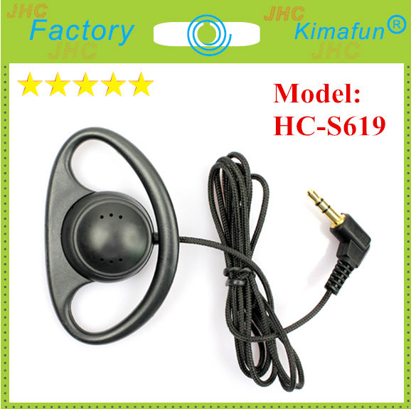 Translator Monitoring D Shape Earphone for Translation HC-S619