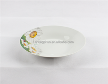 Porcelain soup plate, white antique porcelain plates, cheap white porcelain dessert plates