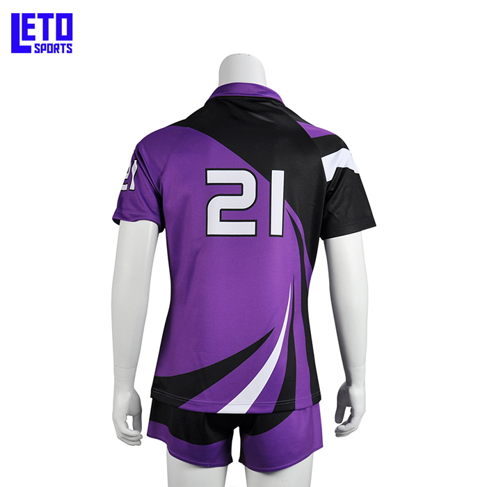 2018 Man Sublimation Rugby Union Jersey