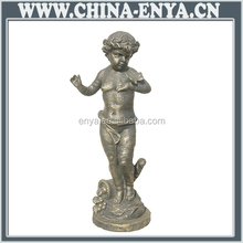 China supplier contemporary wholesale silver metal angel figurines