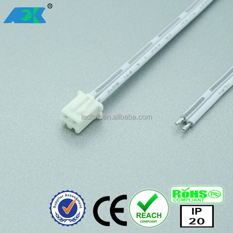 Dongguan LED Furniture Light 12V European LED Kitchen Cabinet Light with Mini plug wire connector
