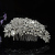 Fashion Jeweled Crystal Wedding Rhinestone Comb and Bridal Rhinestone Comb For Hair Tiara