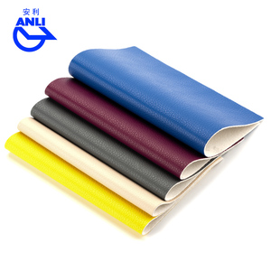 colorful litchi grain bag use pvc pu leather in stock for watches