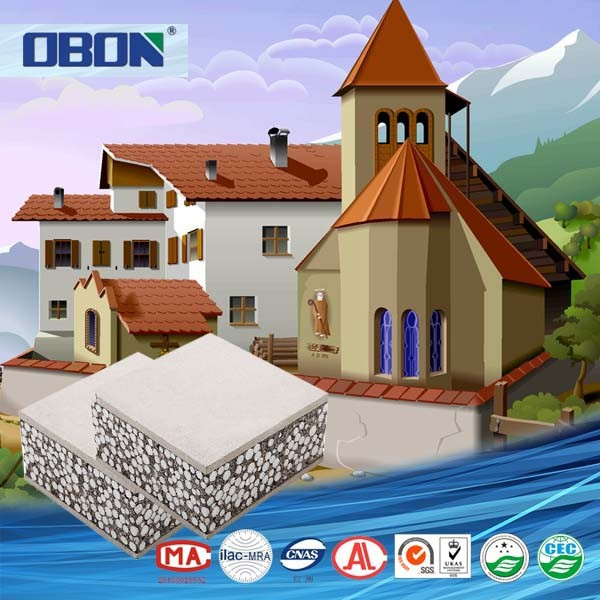 Obon lightweight exterior wall panel building materials for Exterior wall construction materials