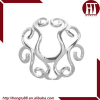 HT Beautiful Hot Sale 316L Stainless Steel Fake Nipple Ring Nipple Piercing Ring