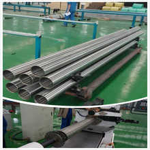 316L Material Sieve Bend Screen Filter Screen Welding Mahine Mahine For Making Perfect Round Screens Tubes