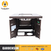 Gardensun cheap price stone gas fire pit Outdoor Actitivites